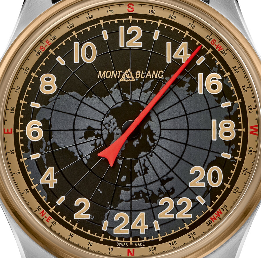 Montblanc 1858 Automatic 24H Dial