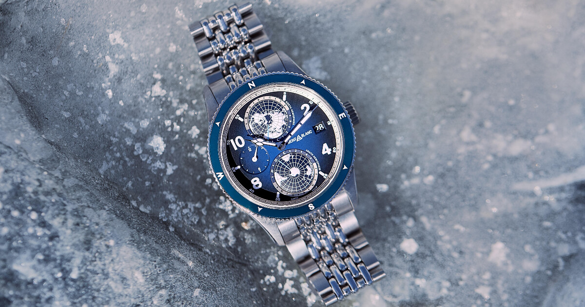 Montblanc 1858 Split Second Chronograph Limited Edition 100 and Montblanc 1858 Geosphere (Price, Pictures and Specifications)