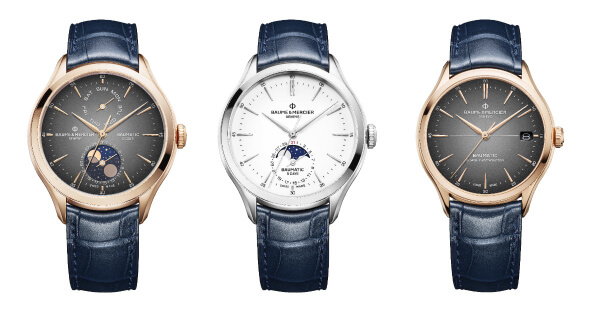 Baume & Mercier Clifton Baumatic Collection (Price, Pictures and Specifications)