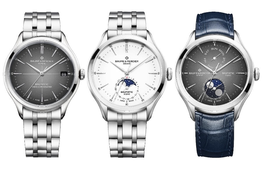 Baume & Mercier Clifton Baumatic Collection 5 Days