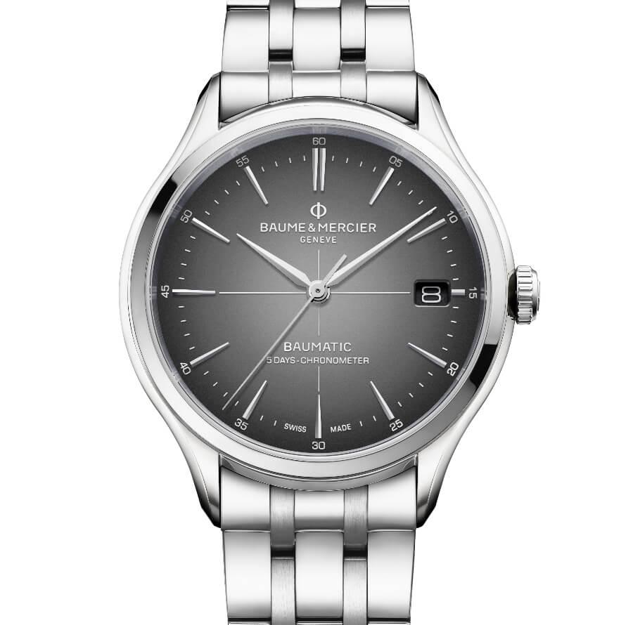 Baume & Mercier COSC-Certified Clifton Baumatic Date Watch Review