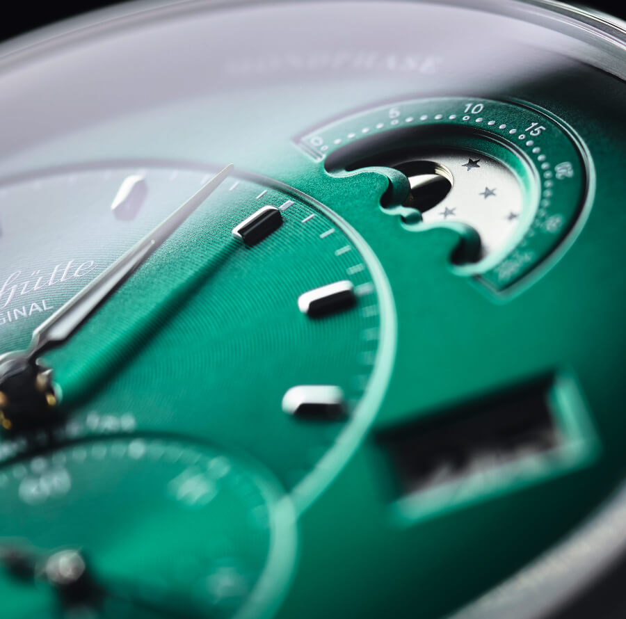 Glashütte Original PanoMaticLunar In Forest Green Dial