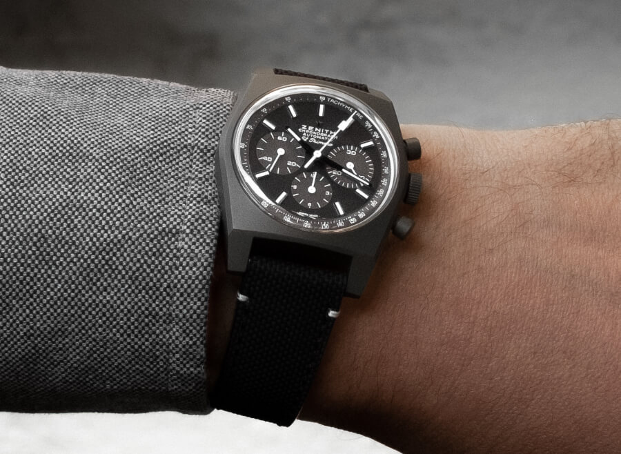 """Zenith Chronomaster Revival """"Shadow"""" Watch Review"""