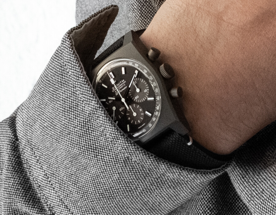 """Zenith Chronomaster Revival """"Shadow"""" ref. 97.T384.4061/21.C822 Watch Review"""