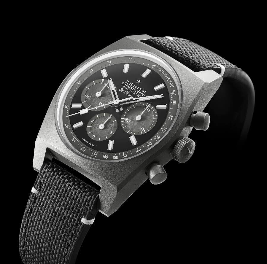 "The New Zenith Chronomaster Revival ""Shadow"" ref. 97.T384.4061/21.C822"