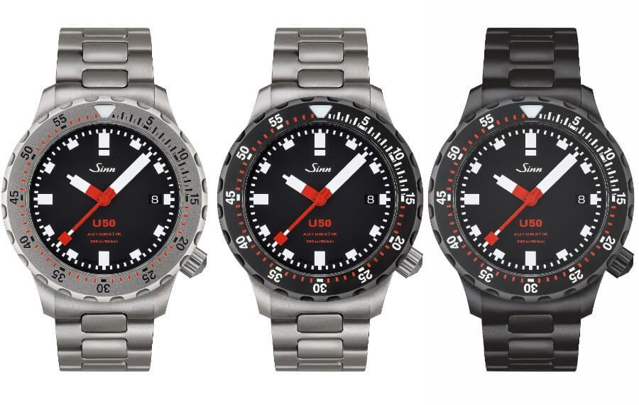 The New Sinn U50 Watch Collection