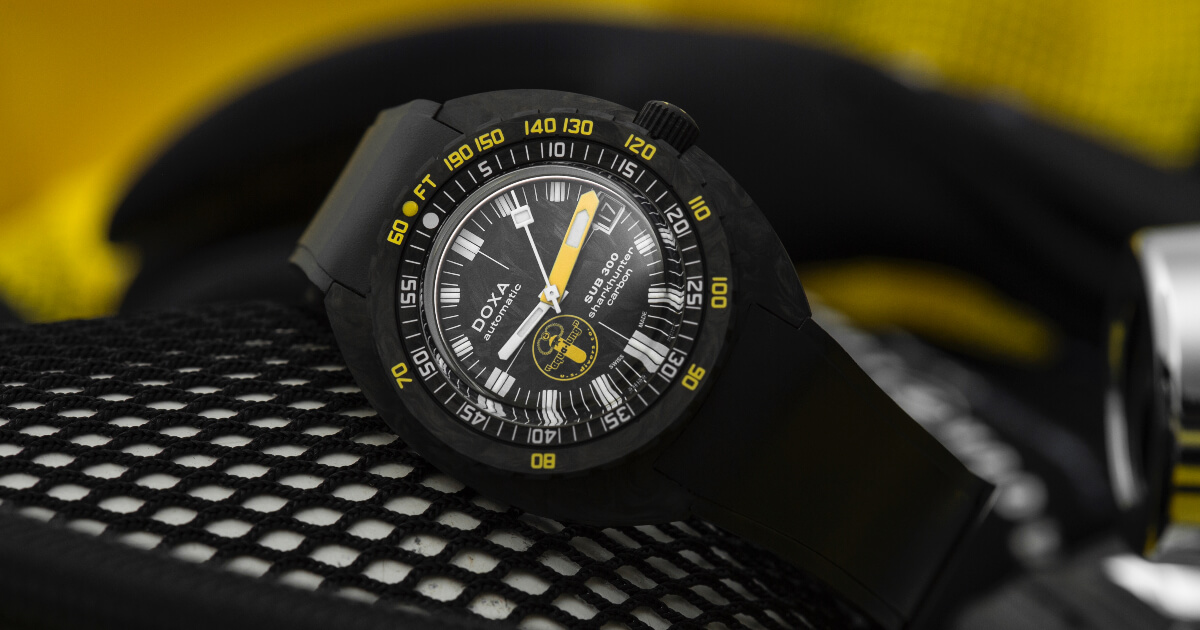 The New Doxa SUB 300 Aqua Lung US Divers (Price, Pictures and Specifications)