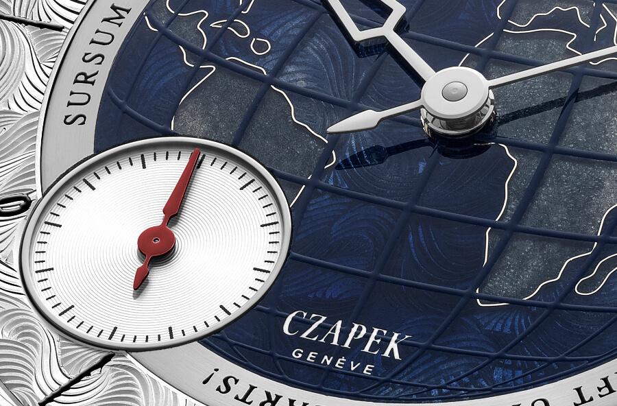 "Czapek & Cie Quai des Bergues ""Sursum Corda"" Dial"