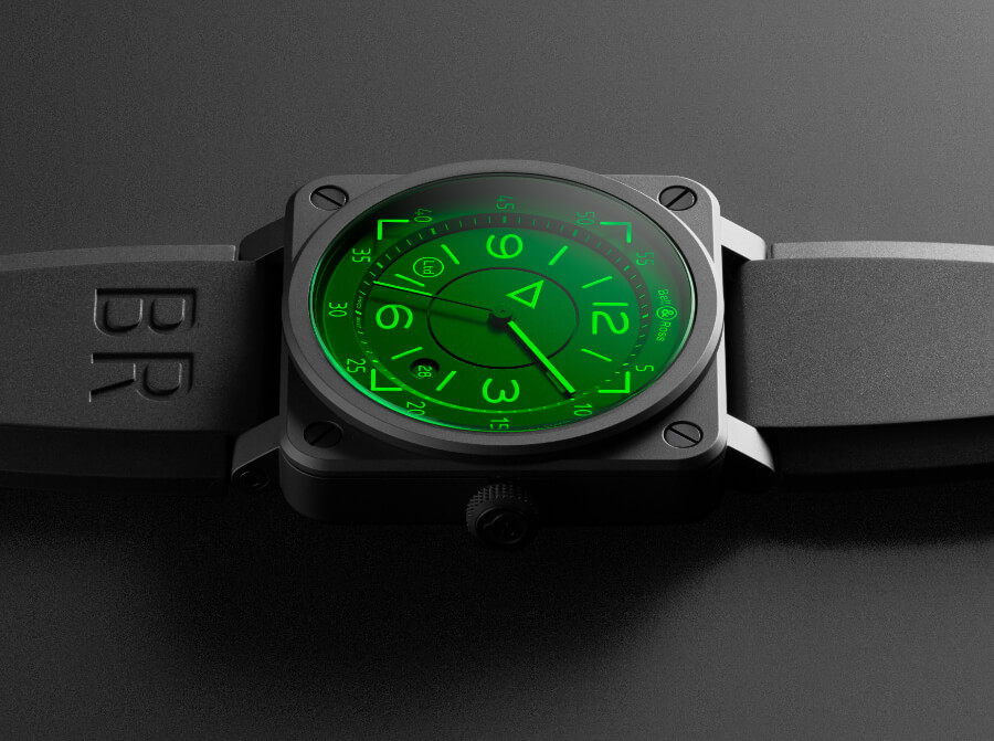 The New Bell & Ross BR 03-92 H.U.D