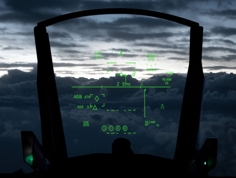 Airforce head up display