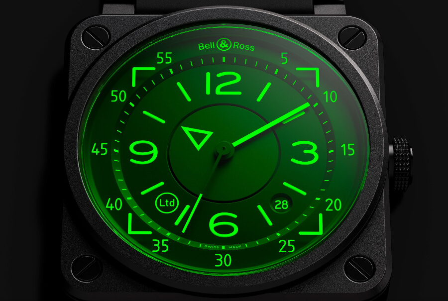 Bell & Ross BR 03-92 HUD Watch Dial