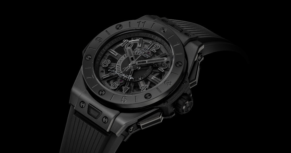 Hublot Big Bang GMT All Black Yohji Yamamoto (Price, Pictures and Specifications)