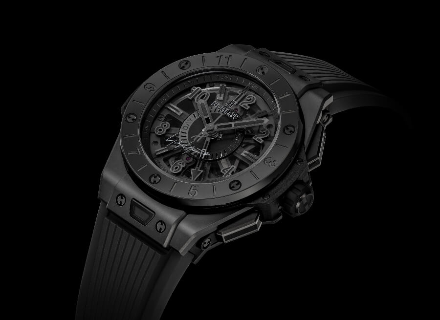 Hublot Big Bang GMT All Black Yohji Yamamoto Watch Review