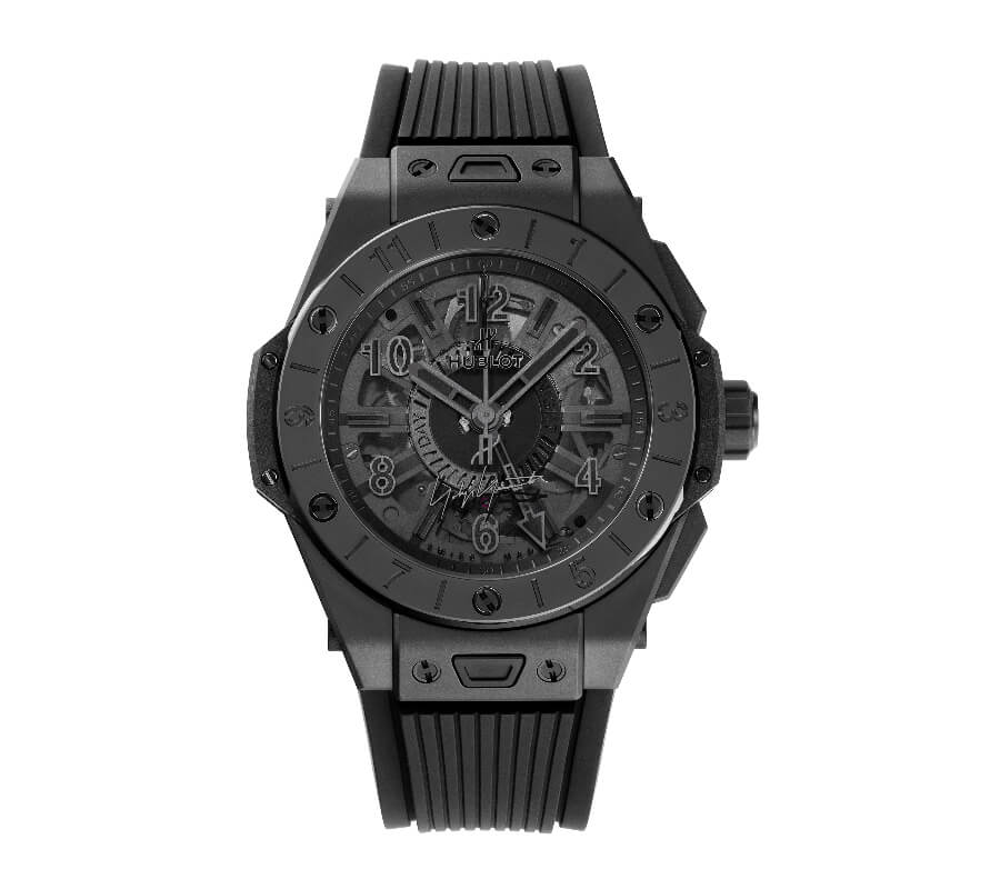 The New Hublot Big Bang GMT All Black Yohji Yamamoto