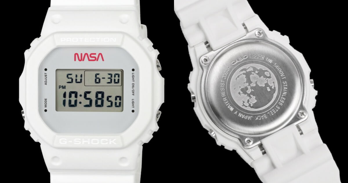 The New Casio G-Shock DW5600NASA20-7CR Limited-Edition Timepiece (Price, Pictures and Specifications)