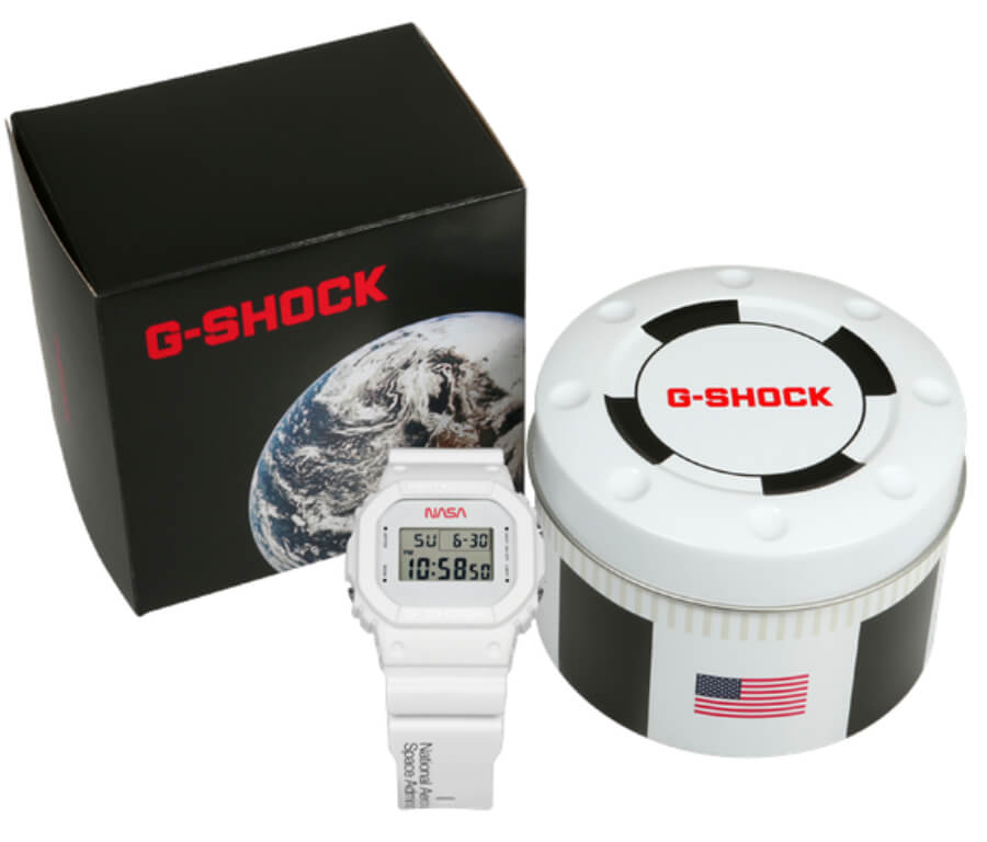 Casio G-Shock DW5600NASA20-7CR Limited-Edition