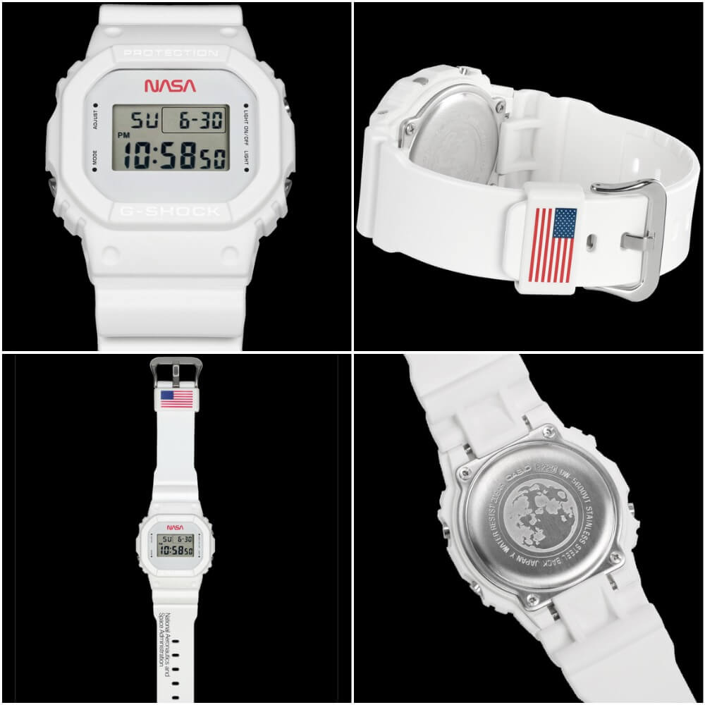 The New Casio G-Shock DW5600NASA20-7CR Limited-Edition Timepiece