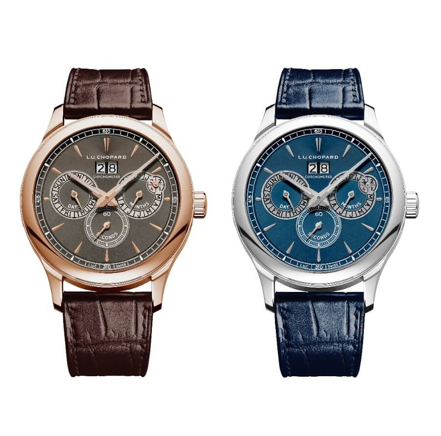 The New Chopard L.U.C Perpetual Twin In stainless steel or 18-carat rose gold