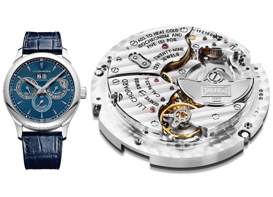 Swiss Perpetual Calendar Watch