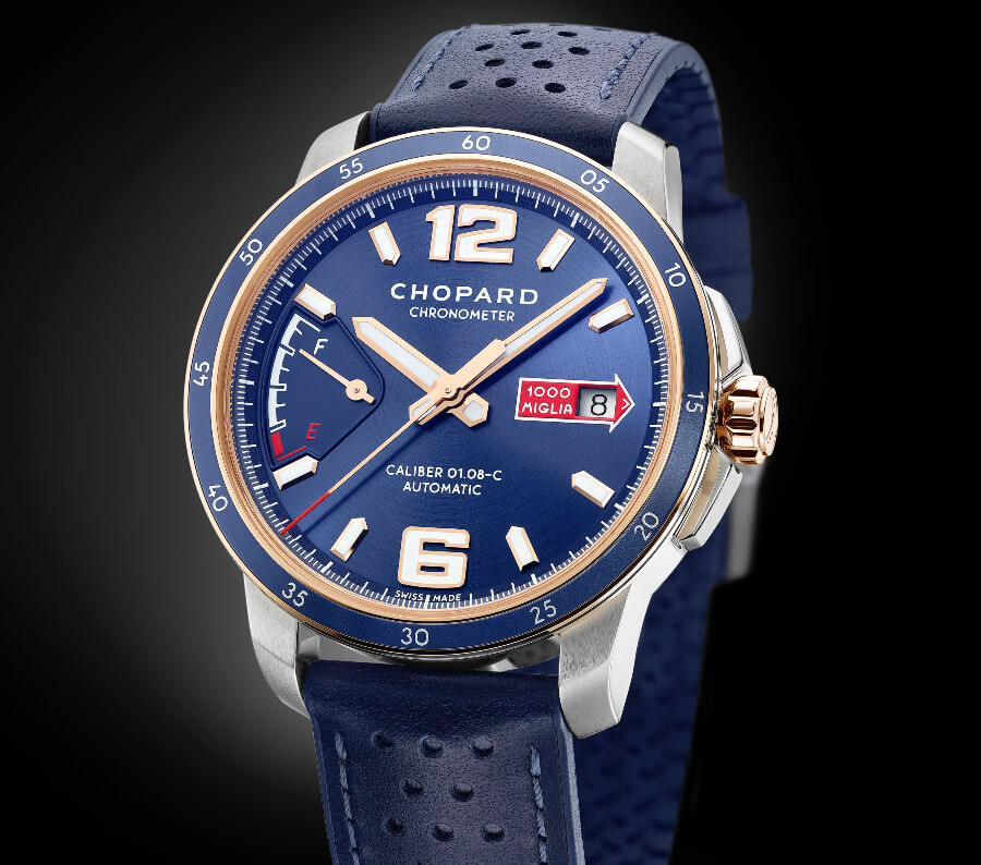 The New Chopard Mille Miglia GTS Azzurro Power Control