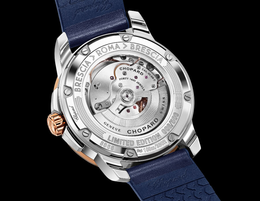 Chopard Mille Miglia GTS Azzurro Power Control In House Movement