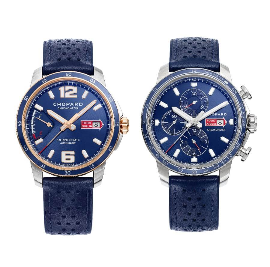 Chopard Mille Miglia GTS Azzurro Power Control and Chrono