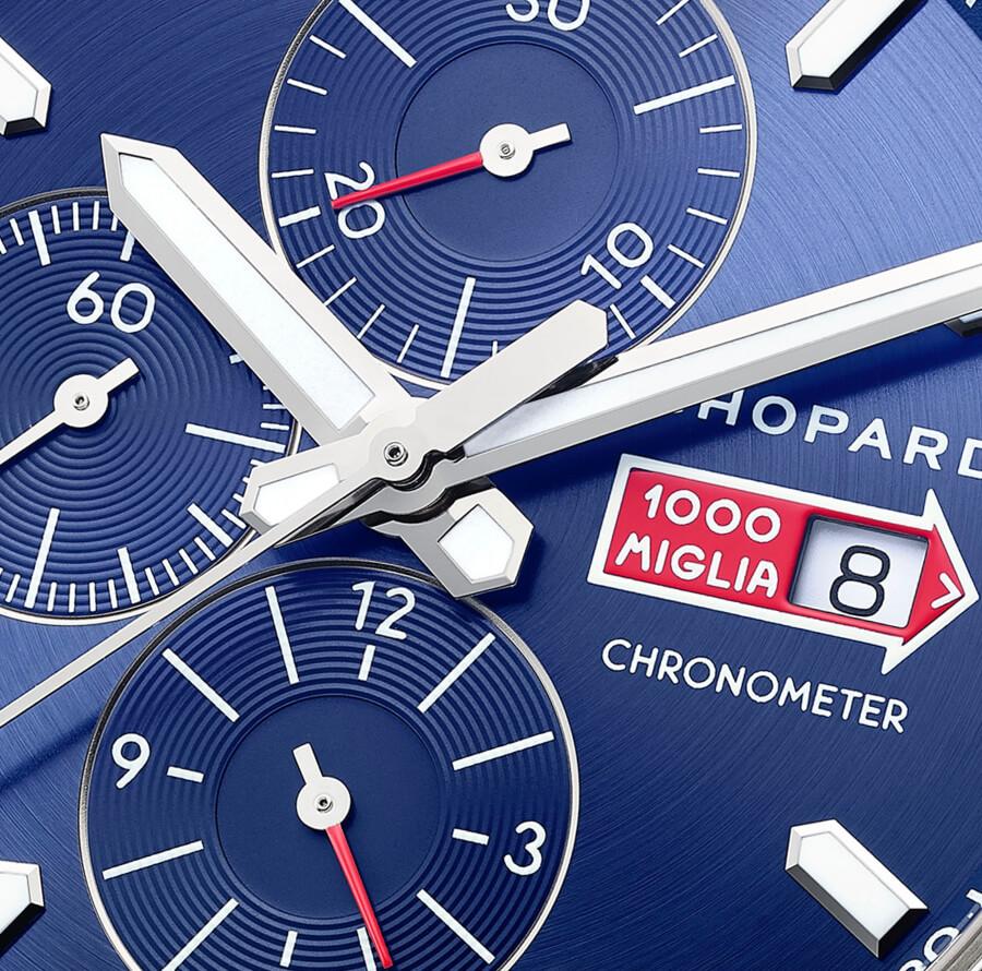 Chopard Mille Miglia GTS Azzurro Chrono Watch Dial