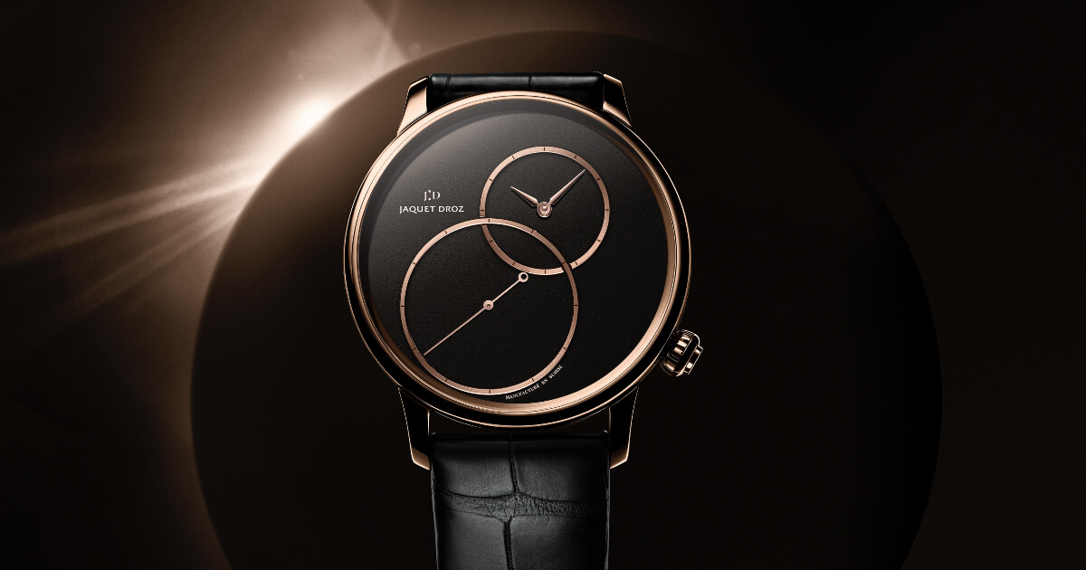 Jaquet Droz Grande Seconde Off-Centered In Black Jade (Price, Pictures and Specifications)