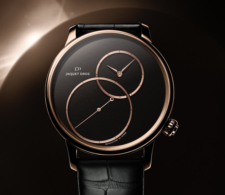 Jaquet Droz Grande Seconde Off-Centered In Black Jade  Dial