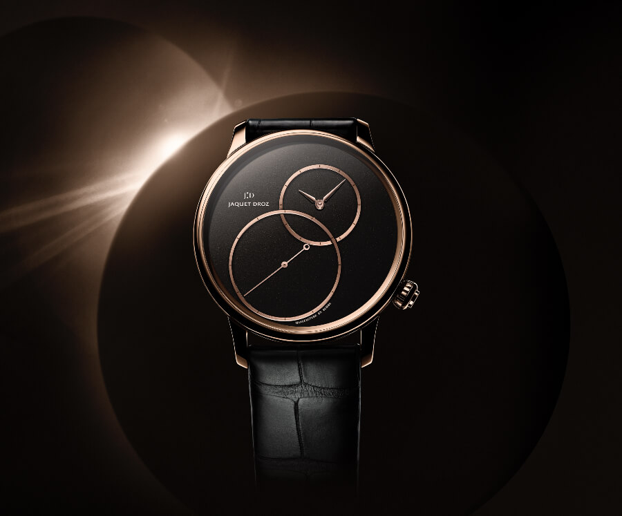 The New Jaquet Droz Grande Seconde Off-Centered In Black Jade