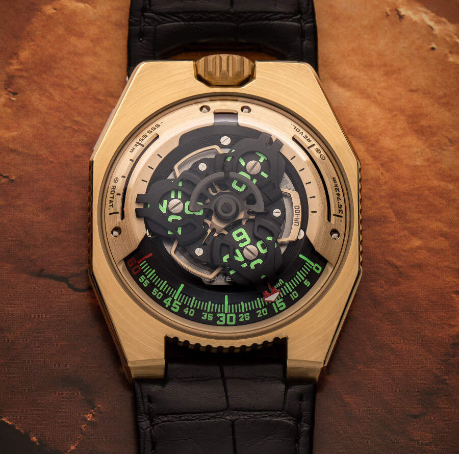 Urwerk UR-100 Gold Edition