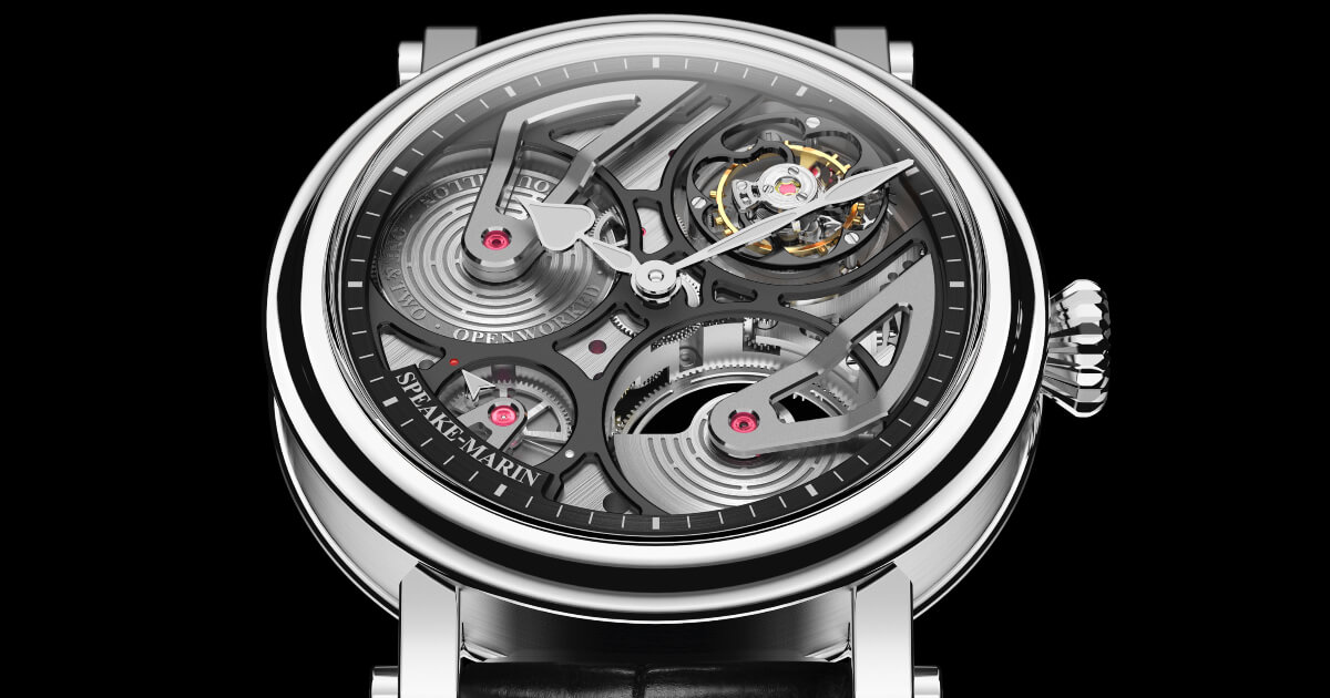 Speake-Marin One&Two Openworked Tourbillon Titanium (Price, Pictures and Specifications)