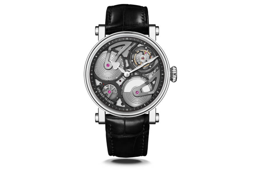 The New Speake-Marin One&Two Openworked Tourbillon Titanium