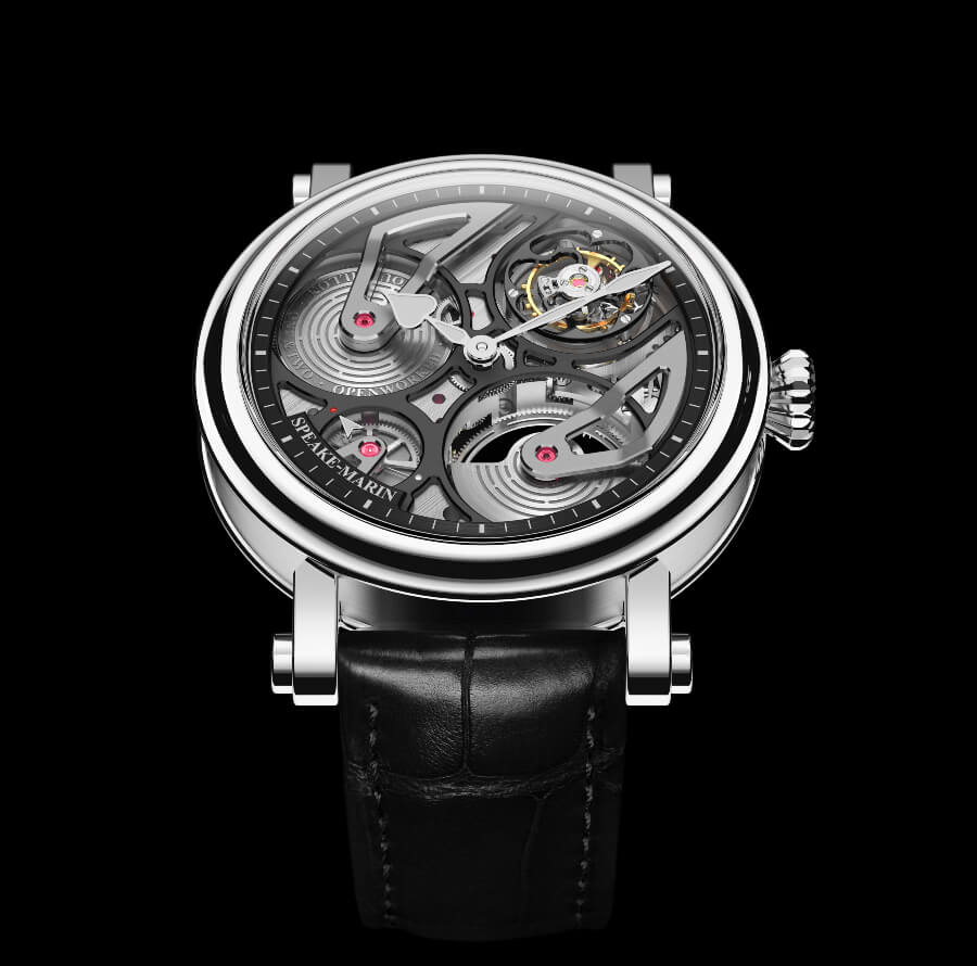 Speake-Marin One&Two Openworked Tourbillon Titanium Watch Review