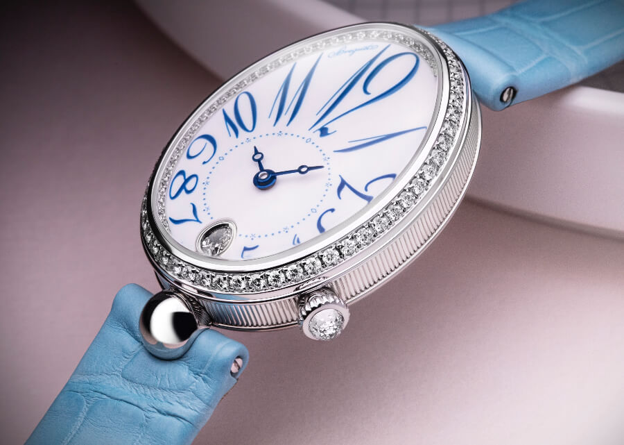 Breguet Reine De Naples 8918 In Grand Feu Enamel