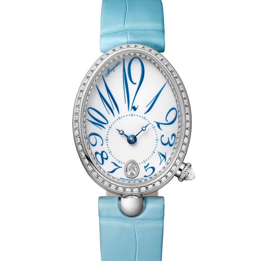 The New Breguet Reine De Naples 8918 In Grand Feu Enamel Ladies Watch