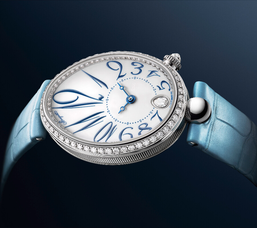 Breguet Reine De Naples 8918 In Grand Feu Enamel Watch Review