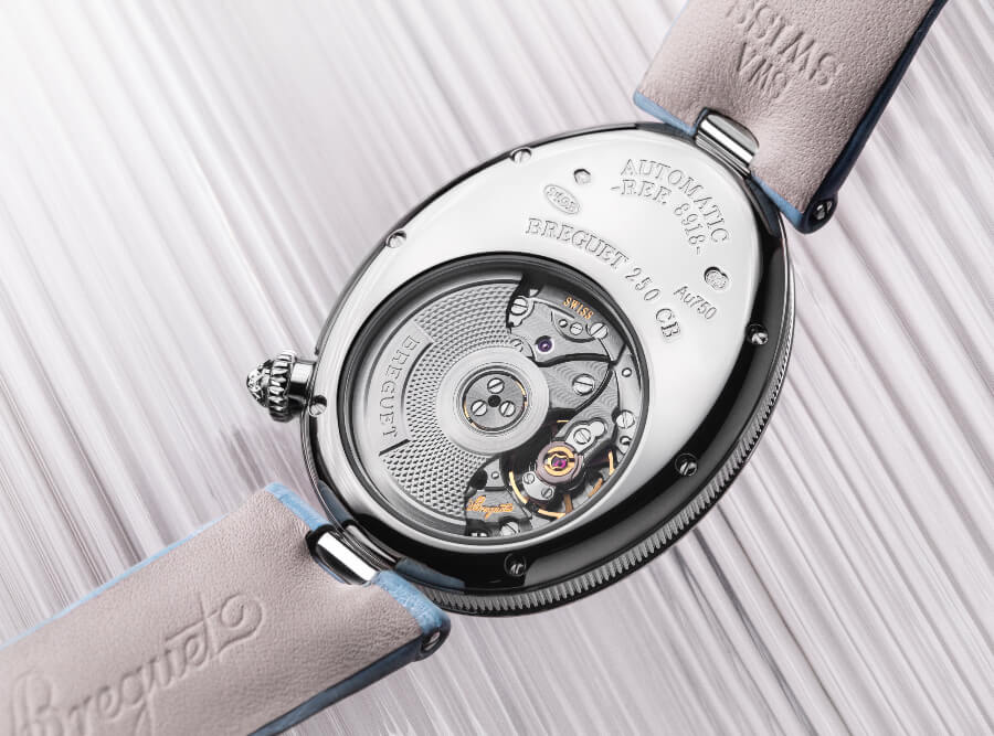 Breguet Reine De Naples 8918 In Grand Feu Enamel Watch Movement
