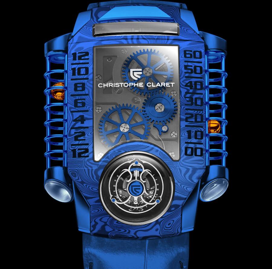 Christophe Claret X-TREM-1 Blue Ref. MTR.FLY11.180-188