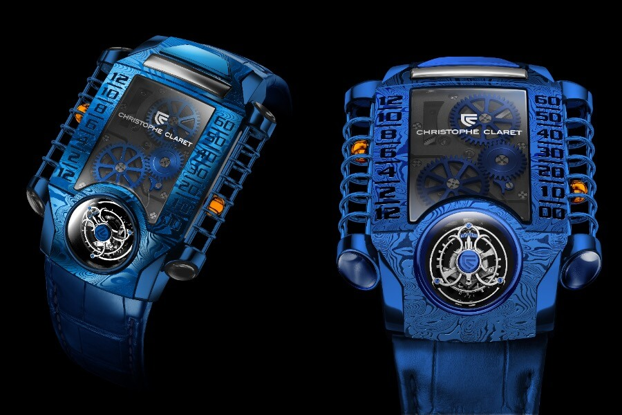 Christophe Claret X-TREM-1 Blue PVD Ref. MTR.FLY11.180-188