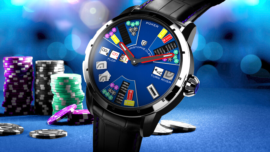 Christophe Claret Poker watch Review