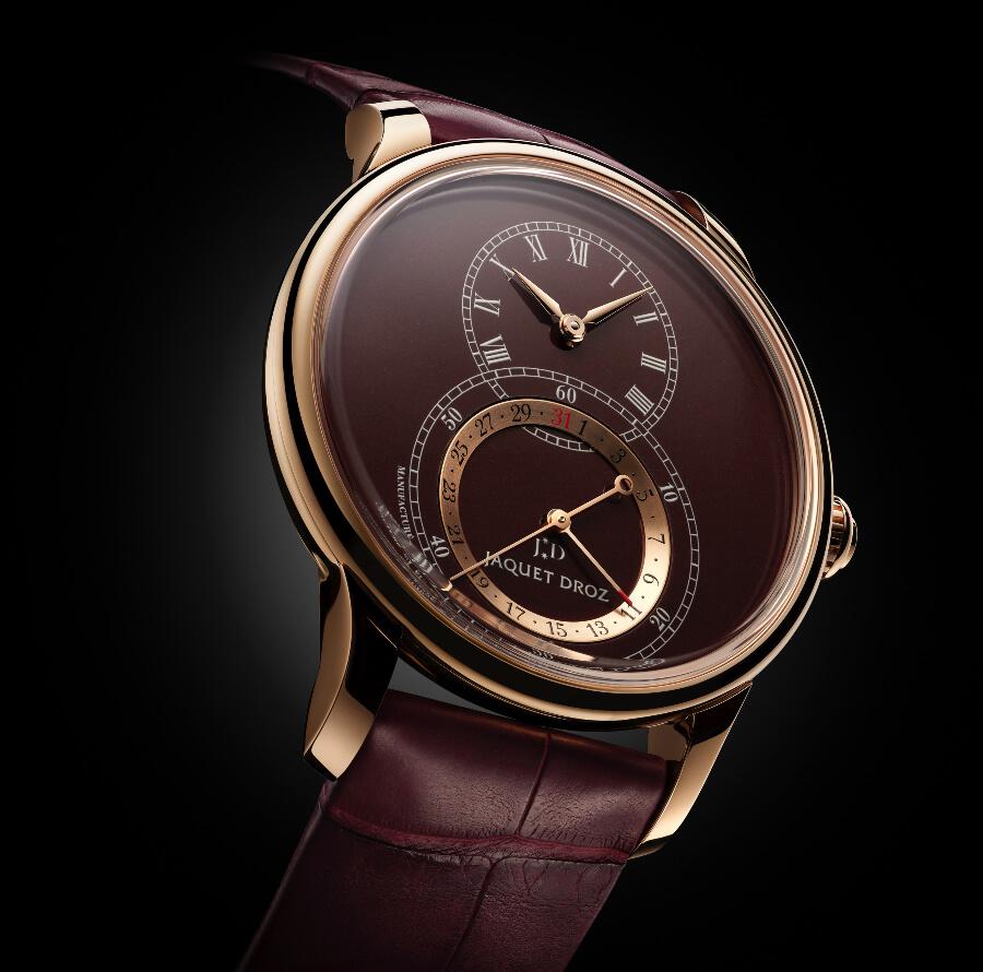 Jaquet Droz Grande Seconde Quantième 41 mm Red Gold Watch