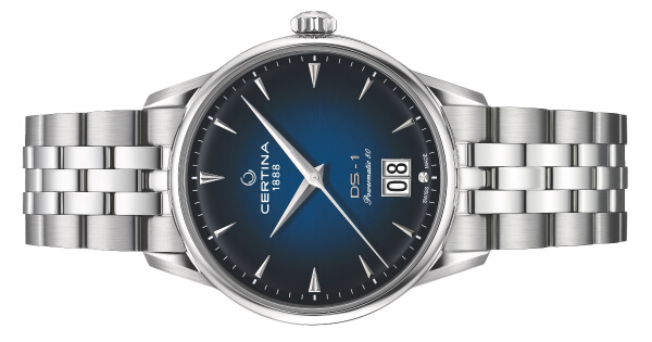 Certina DS-1 Big Date Dark Blue Dial (price, Pictures and Specifications)
