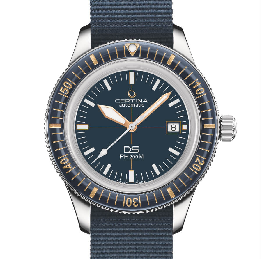 The New Certina DS PH200M Blue Dial Watch