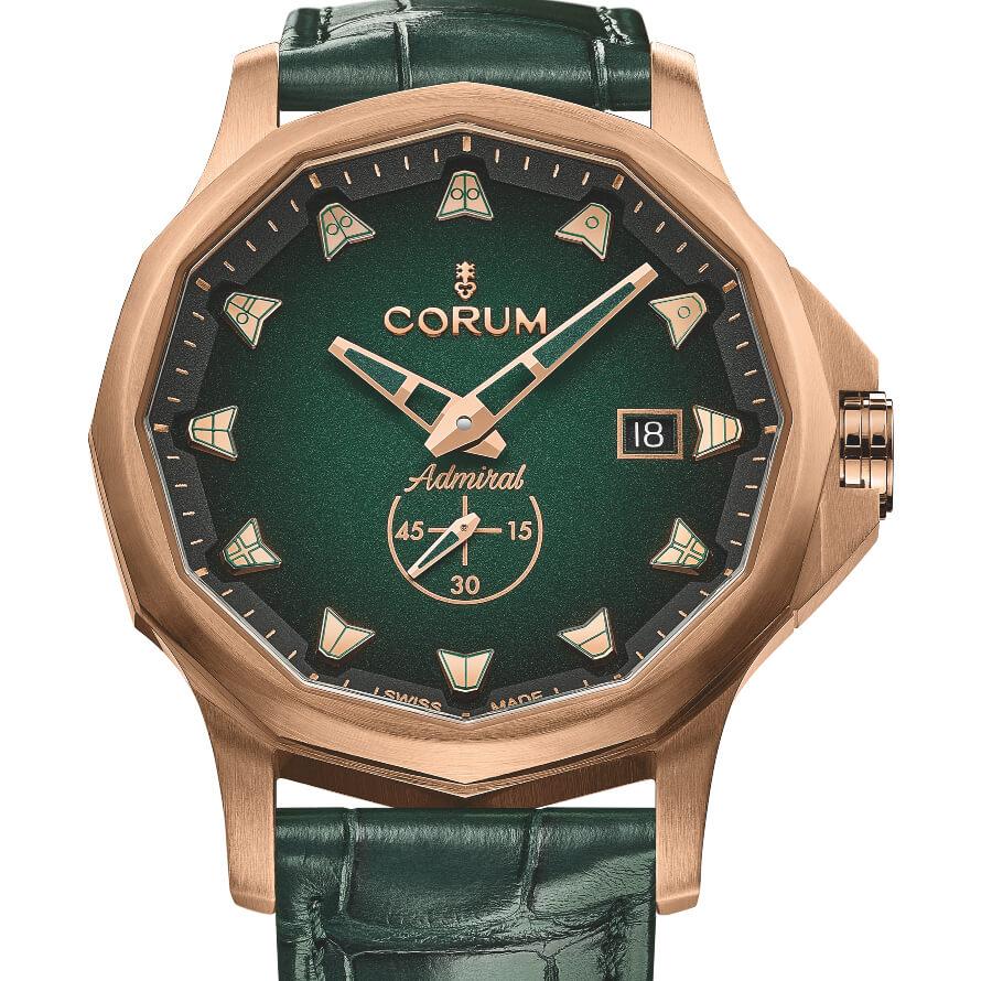 Corum Admiral 42 Automatic Bronze Green