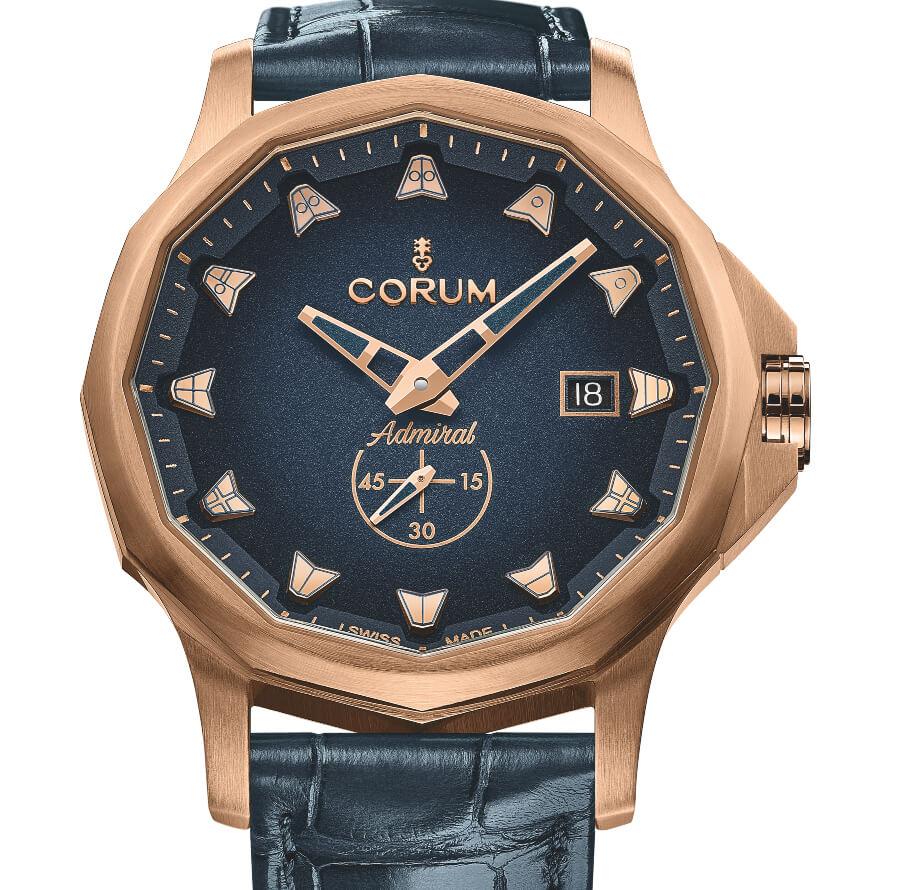 Corum Admiral 42 Automatic Bronze Blue