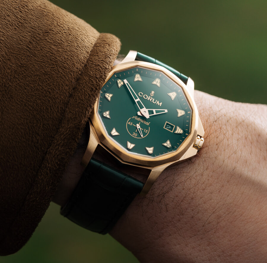 Corum Admiral 42 Automatic Bronze Green Watch Review