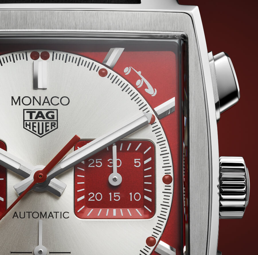 TAG Heuer Monaco Grand Prix de Monaco Historique Limited Edition Watch Dial