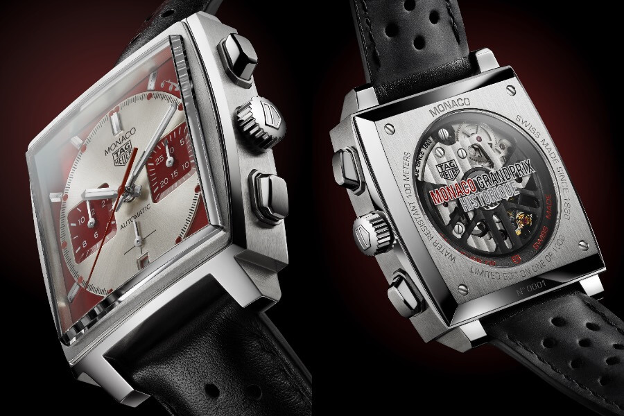TAG Heuer Monaco Red Dial