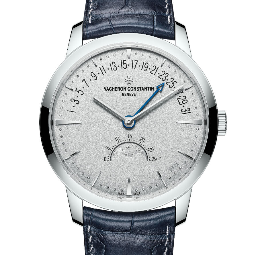 Vacheron Constantin Patrimony Moon Phase Retrograde Date - Collection Excellence Platine